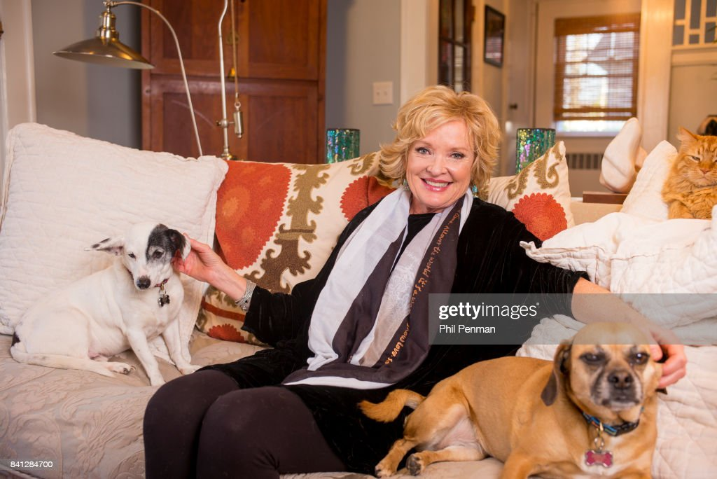 Actress Christine Ebersole is photographed for Closer Weekly Magazine on April 14, 2016 at home in New Jersey.