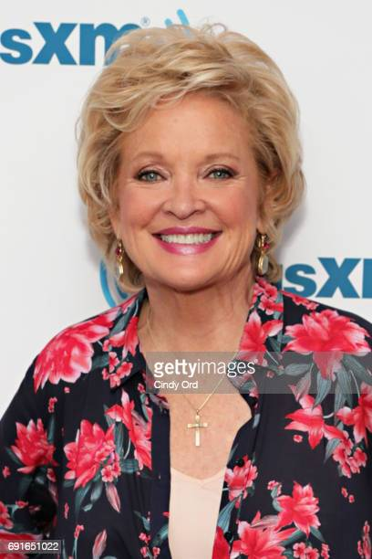 Actress Christine Ebersole visits the SiriusXM Studios on June 2 2017 in New York City