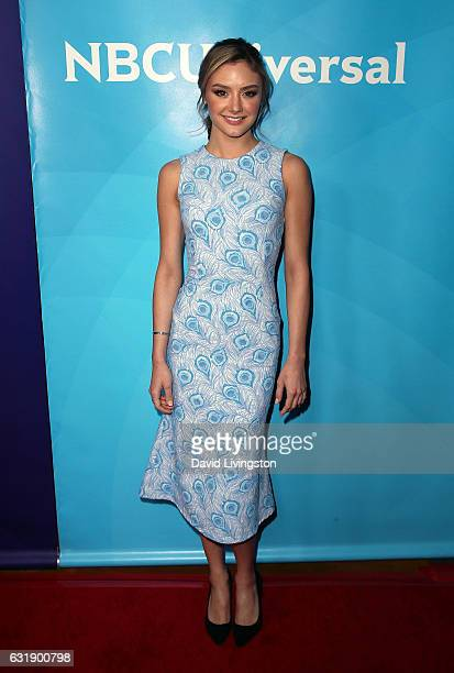 Actress Christine Evangelista attends the 2017 NBCUniversal Winter Press Tour Day 1 at the Langham Hotel on January 17 2017 in Pasadena California