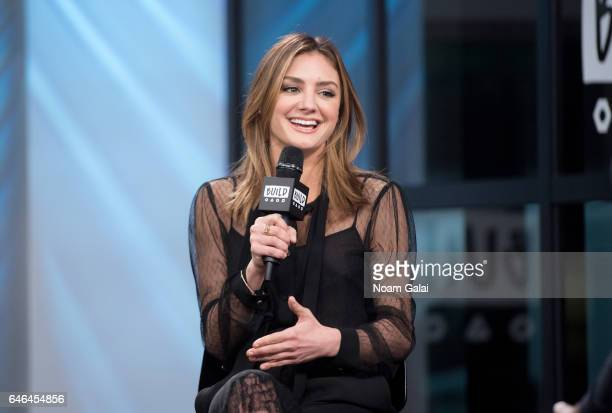 Actress Christine Evangelista visits Build Series to discuss 'The Arrangement' at Build Studio on February 28 2017 in New York City