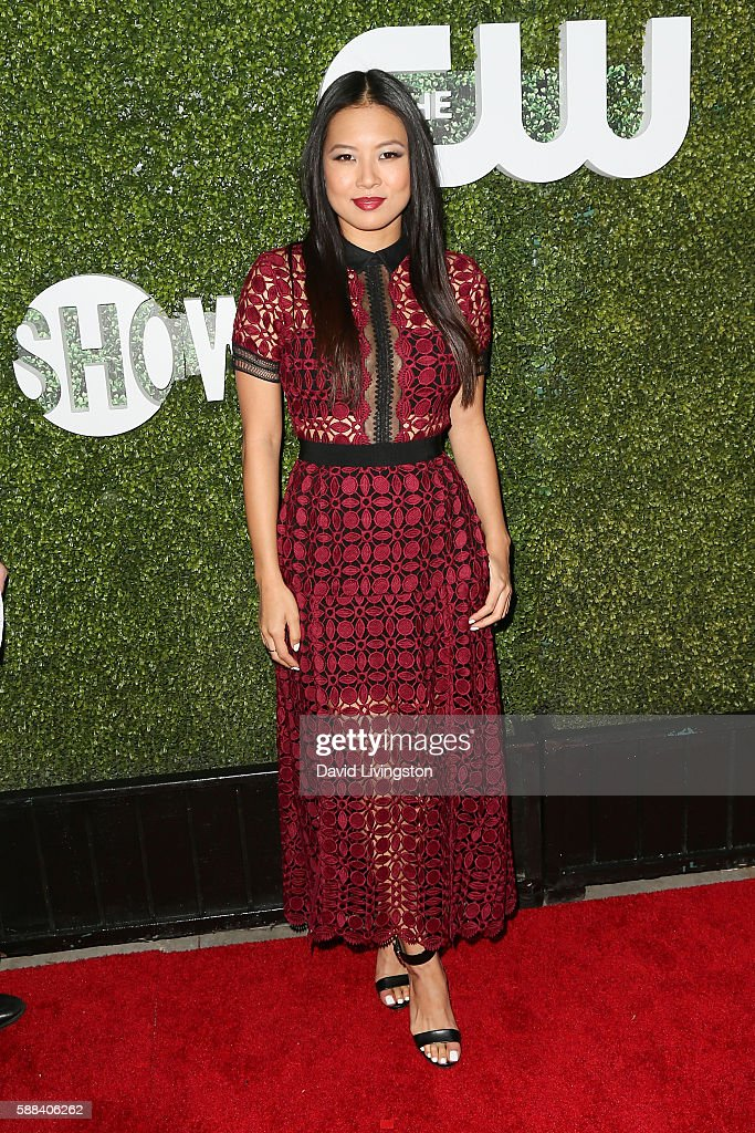 Actress Christine Ko arrives at the CBS, CW, Showtime Summer TCA Party at the Pacific Design Center on August 10, 2016 in West Hollywood, California.