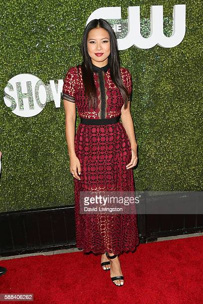 Actress Christine Ko arrives at the CBS CW Showtime Summer TCA Party at the Pacific Design Center on August 10 2016 in West Hollywood California