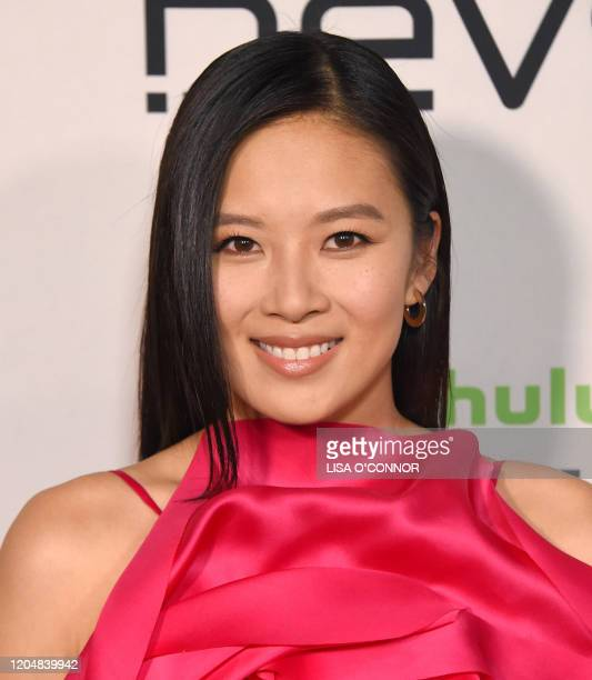 US actress Christine Ko arrives for FX Networks' limited series premiere of Devs at the Arclight cinemas in Hollywood on March 2 2020