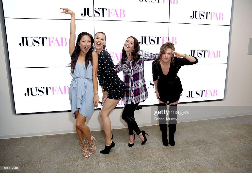 "JustFab + StyleHaul Screening: ""Relationship Status"" : News Photo"
