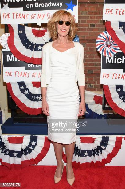 Actress Christine Lahti attends as awardwinning filmmaker Michael Moore celebrates his Broadway Opening Night in The Terms of My Surrender at Belasco...