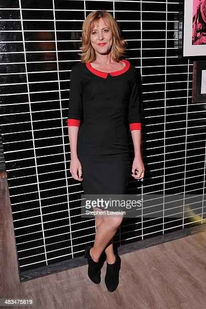 Actress Christine Lahti attends IFC Films' Hateship Loveship screening hosted by The Cinema Society and Montblanc after party at The Skylark on April...