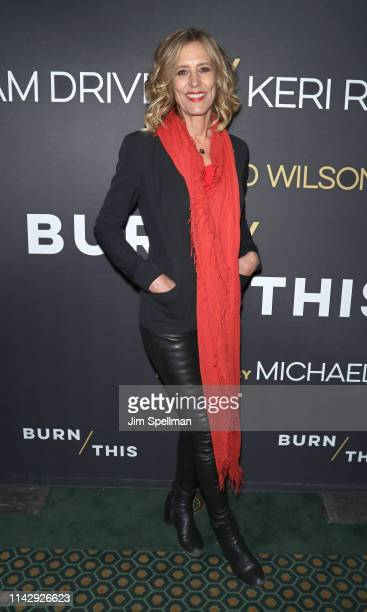 Actress Christine Lahti attends the Burn This opening night at Hudson Theatre on April 15 2019 in New York City