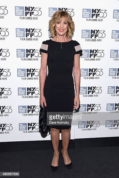 Actress Christine Lahti attends the Everything Is Copy premiere during the 53rd New York Film Festival at Walter Reade Theater on September 29 2015...
