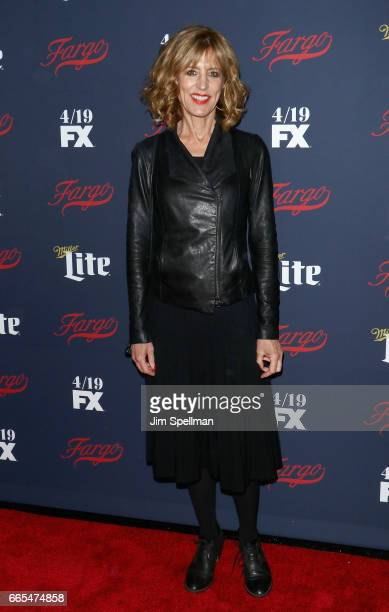 Actress Christine Lahti attends the FX Network 2017 allstar upfront at SVA Theater on April 6 2017 in New York City