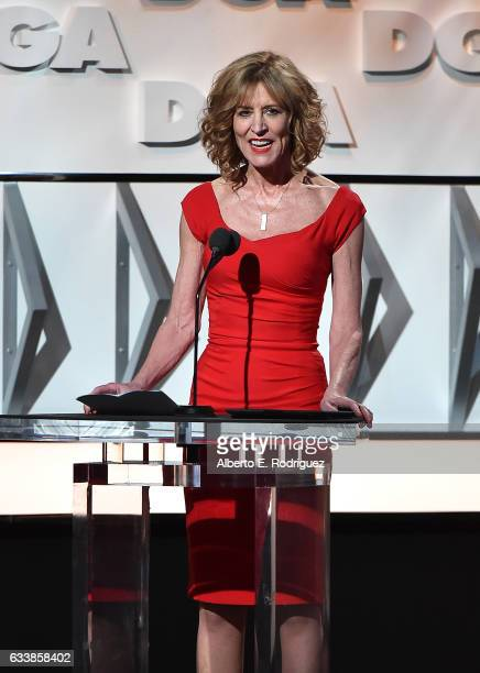Actress Christine Lahti onstage during the 69th Annual Directors Guild of America Awards at The Beverly Hilton Hotel on February 4 2017 in Beverly...