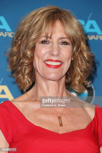 Actress Christine Lahti poses in the press room during the 69th Annual Directors Guild of America Awards at The Beverly Hilton Hotel on February 4...