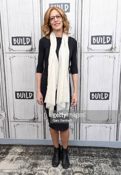 Actress Christine Lahti visits Build Series to discuss the play 'Gloria A Life' at Build Studio on December 6 2018 in New York City