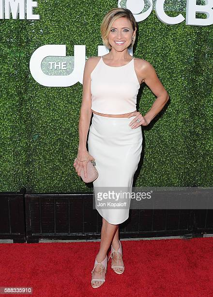 Actress Christine Lakin arrives at CBS CW Showtime Summer TCA Party at Pacific Design Center on August 10 2016 in West Hollywood California