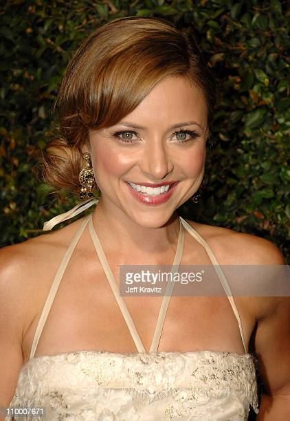 Actress Christine Lakin arrives at the 2007 Spike TV Scream Awards at The Greek Theater on October 19 2007 in Los Angeles California
