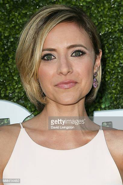 Actress Christine Lakin arrives at the CBS CW Showtime Summer TCA Party at the Pacific Design Center on August 10 2016 in West Hollywood California