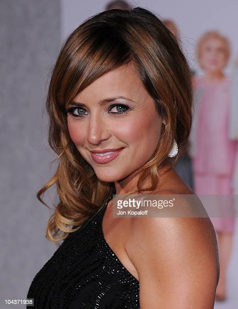 Actress Christine Lakin arrives at the Los Angeles Premiere 'You Again' at the El Capitan Theatre on September 22 2010 in Hollywood California