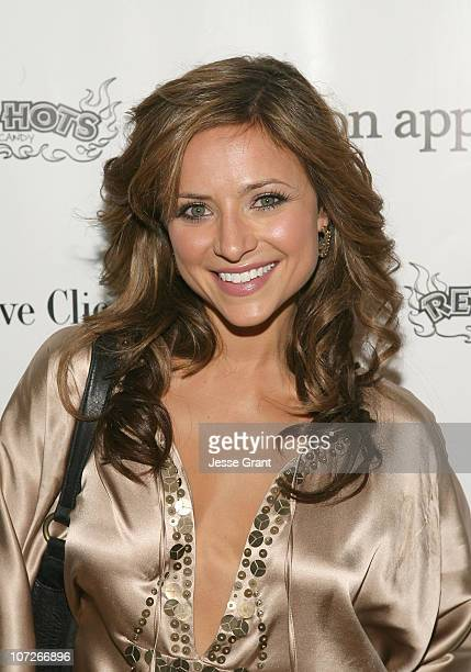 Actress Christine Lakin attends 'The Hottie and The Nottie' Dinner hosted by the Bon Appetit Supper Club on January 20 2008 in Park City Utah