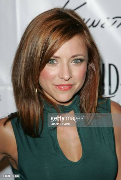 Actress Christine Lakin attends the Kenneth Cole Awareness Fund Event at the Beverly Center on April 3 2008 in Los Angeles California