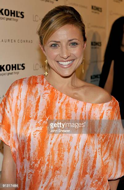 Actress Christine Lakin attends the 'LC Lauren Conrad' with Lauren Conrad Kohl's department stores held at 8432 Melrose Place on October 1 2009 in...