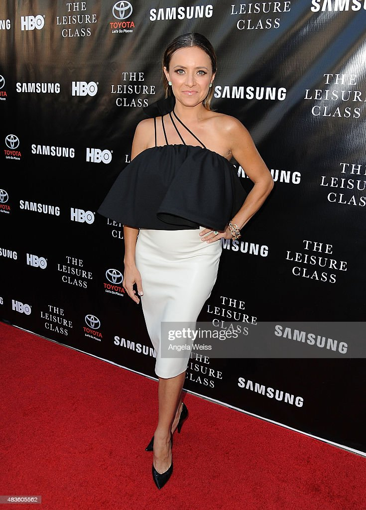 Actress Christine Lakin attends the Project Greenlight Season 4 Winning Film premiere 'The Leisure Class' presented by Matt Damon, Ben Affleck, Adaptive Studios and HBO at The Theatre at Ace Hotel on August 10, 2015 in Los Angeles, California.