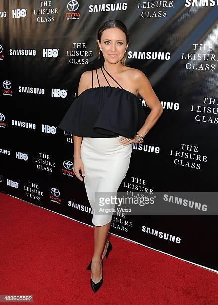 Actress Christine Lakin attends the Project Greenlight Season 4 Winning Film premiere 'The Leisure Class' presented by Matt Damon Ben Affleck...