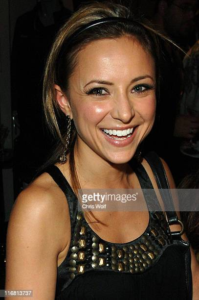 Actress Christine Lakin sighting on November 29 2007 in Beverly Hills California