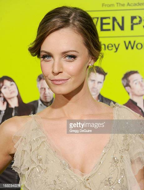 Actress Christine Marzano arrives at the Los Angeles premiere of 'Seven Psychopaths' at Mann Bruin Theatre on October 1 2012 in Westwood California