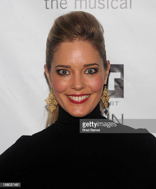 Actress Christine Moore attends BARE The Musical Opening Night at New World Stages on December 9 2012 in New York City