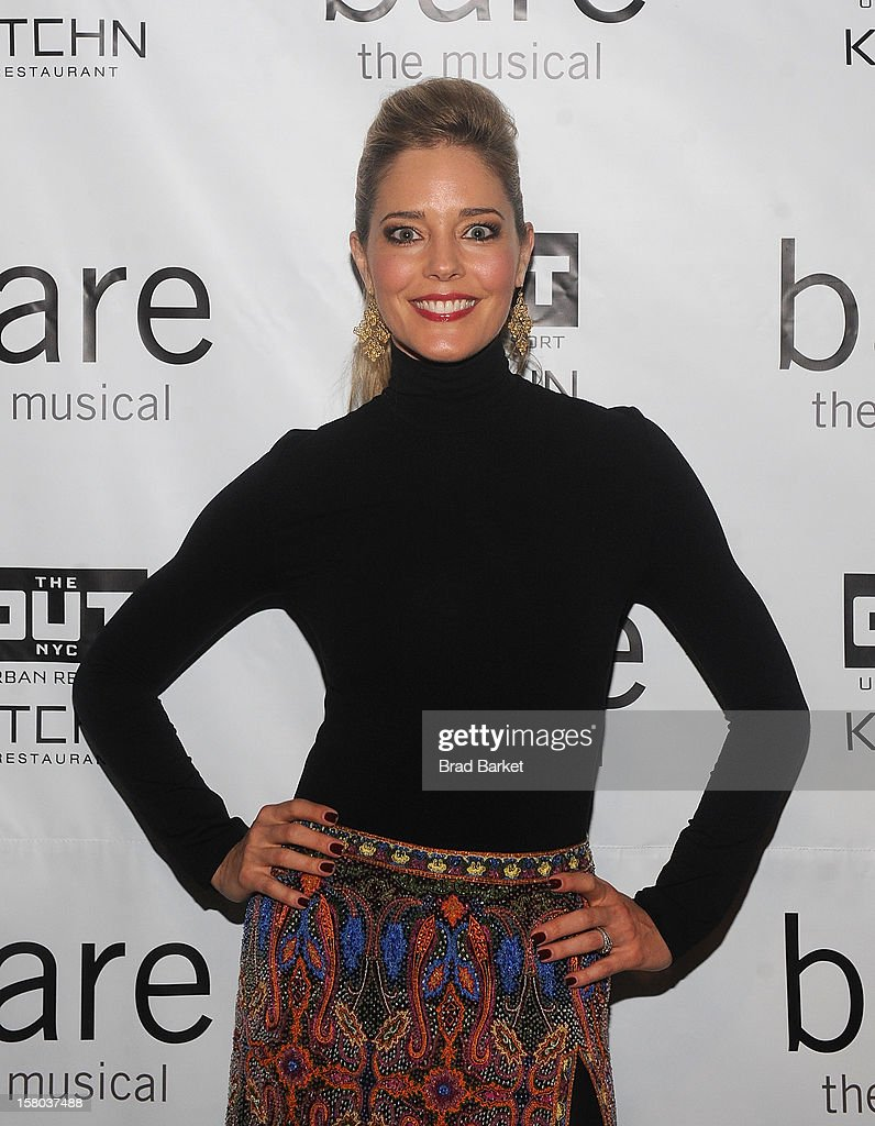 Actress Christine Moore attends 'BARE The Musical' Opening Night at New World Stages on December 9, 2012 in New York City.