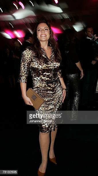 Actress Christine Neubauer attends the Kitzrace Party, January 27 in Kitzbuehel, Austria.