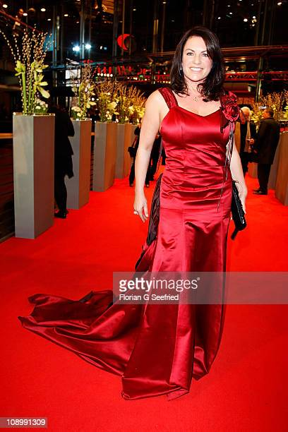 Actress Christine Neubauer attends the Opening Party after the 'True Grit' premiere during the opening day of the 61th Berlin International Film...