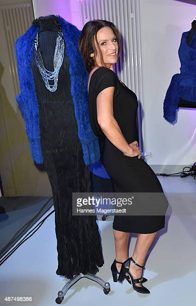 Actress Christine Neubauer attends the 'Susanne Wiebe Fashion Art Show' on September 9 2015 in Munich Germany