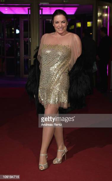 Actress Christine Neubauer attends the 'The King's Speech' Premiere during day seven of the 61st Berlin International Film Festival at...