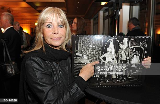 Actress Christine Schuberth attends the presentation of Manfred Baumann New Calendar 2014 at the King's Hotel Center on October 21 2013 in Munich...