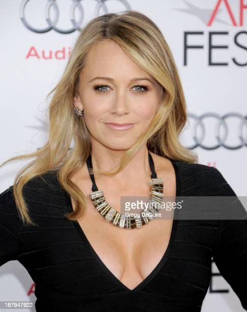 Actress Christine Taylor arrives at AFI FEST 2013 'The Secret Life Of Walter Mitty' premiere at TCL Chinese Theatre on November 13 2013 in Hollywood...