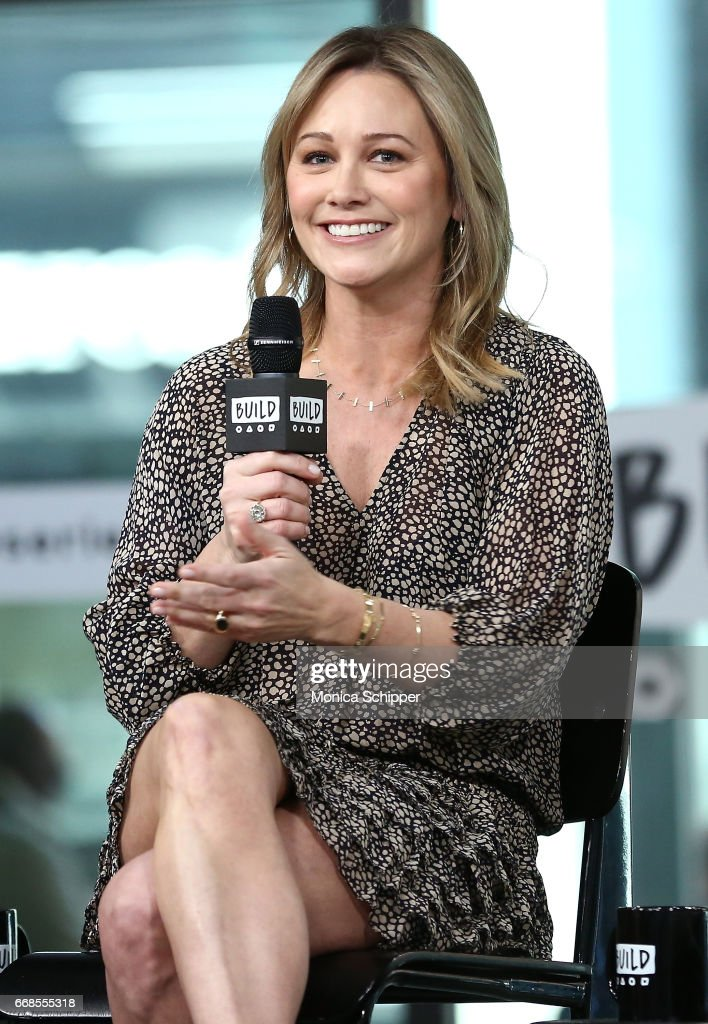 Actress Christine Taylor attends Build Series Presents Rob Meyer, Annie J. Howell, Christine Taylor And Oona Laurence Discussing 'Little Boxes' at Build Studio on April 14, 2017 in New York City.