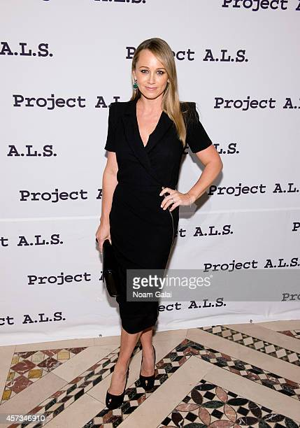 Actress Christine Taylor attends the 16th Annual Tomorrow Is Tonight Gala Benefiting Project ALS at Cipriani 42nd Street on October 16 2014 in New...