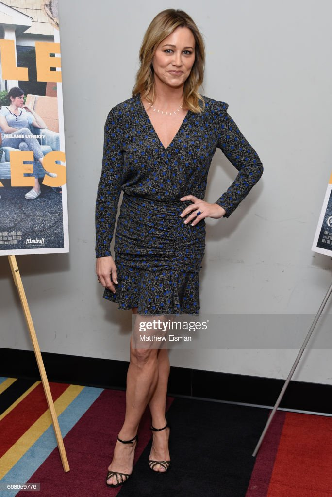 Actress Christine Taylor attends the 'Little Boxes' New York Screening at Village East Cinema on April 14, 2017 in New York City.