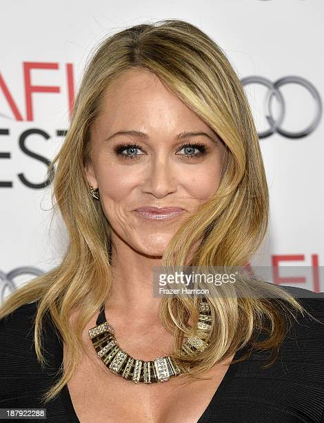 Actress Christine Taylor attends the premiere of The Secret Life of Walter Mitty during AFI FEST 2013 presented by Audi at TCL Chinese Theatre on...