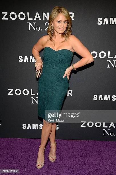 Actress Christine Taylor attends the Zoolander 2 World Premiere at Alice Tully Hall on February 9 2016 in New York City