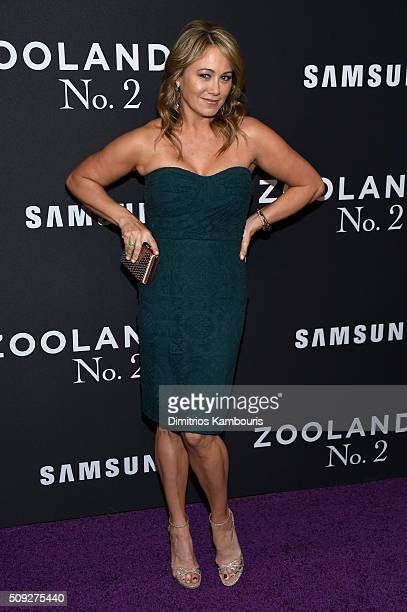 Actress Christine Taylor attends the 'Zoolander 2' World Premiere at Alice Tully Hall on February 9 2016 in New York City