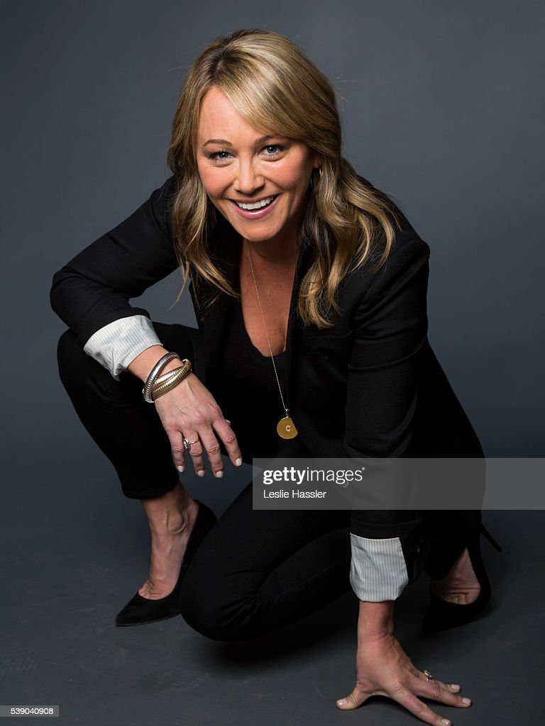 Actress Christine Taylor is photographed for Glamour.com on April 16, 2016 in New York City. PUBLISHED