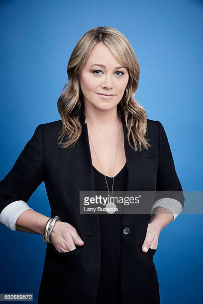 Actress Christine Taylor poses for a portrait at the Tribeca Film Festival on April 16 2016 in New York City