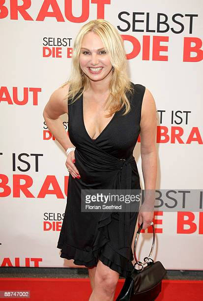 Actress Christine Zierl attends the Germany premiere of 'The Proposal' at Mathaeser cinema on June 29 2009 in Munich Germany