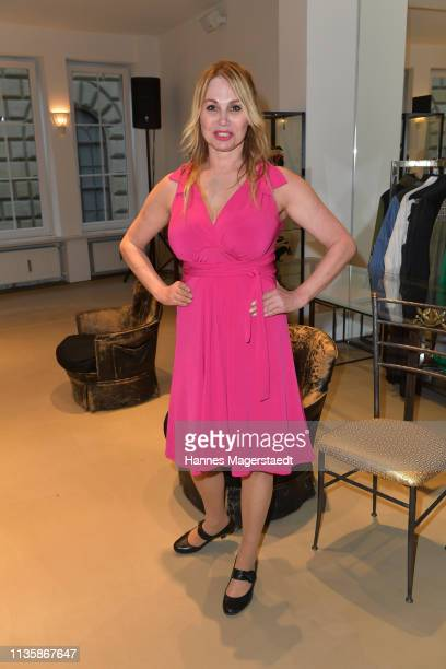 Actress Christine Zierl attends the grand opening of the boutique Muenchen Mitte on April 8 2019 in Munich Germany