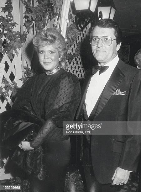 Actress Christopher Norris and husband Walter Danley attend 29th Annual Thalians Ball on November 3 1984 at the Century Plaza Hotel in Century City...