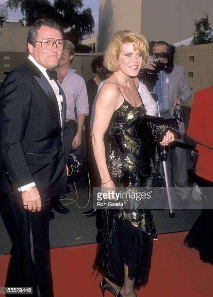 Actress Christopher Norris and husband Walter Danley attend the 15th Annual People's Choice Awards on March 12 1989 at Walt Disney Studios in Burbank...