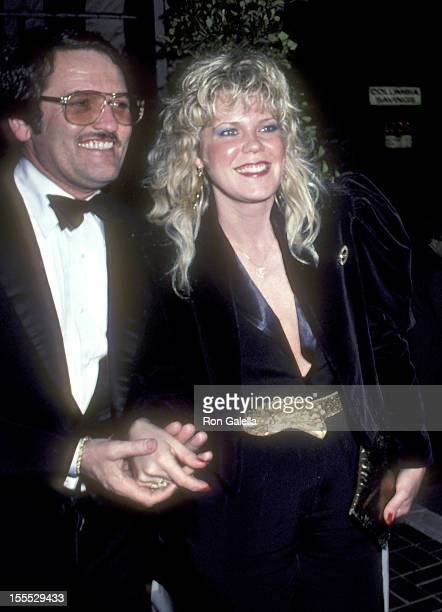 Actress Christopher Norris and husband Walter Danley attend the 1982 American Movie Awards After Party on March 15 1982 at Chasen's Restaurant in...