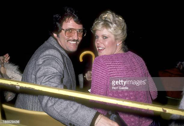 Actress Christopher Norris and husband Walter Danley attend the Opening Night Festivites of the 1981 Avon Tennis Championships of Los Angeles on...