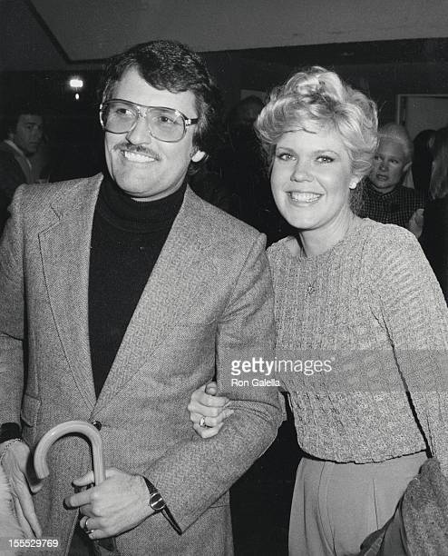 Actress Christopher Norris and husband Walter Danly attend Avon Tennis Tournament Reception on March 2 1981 at the Forum in Los Angeles California